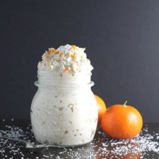 orange coconut vanilla overnight oats
