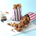 ssalted caramel chocolate popcorn