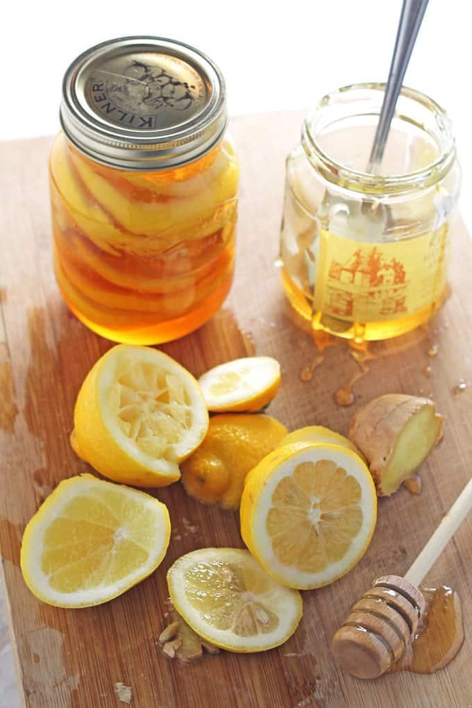 natural cold flu remedy honey