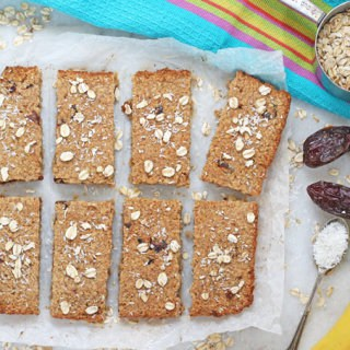 Sugar Free Flapjacks Oat Bars for Baby Led Weaning | My Fussy Eater Blog