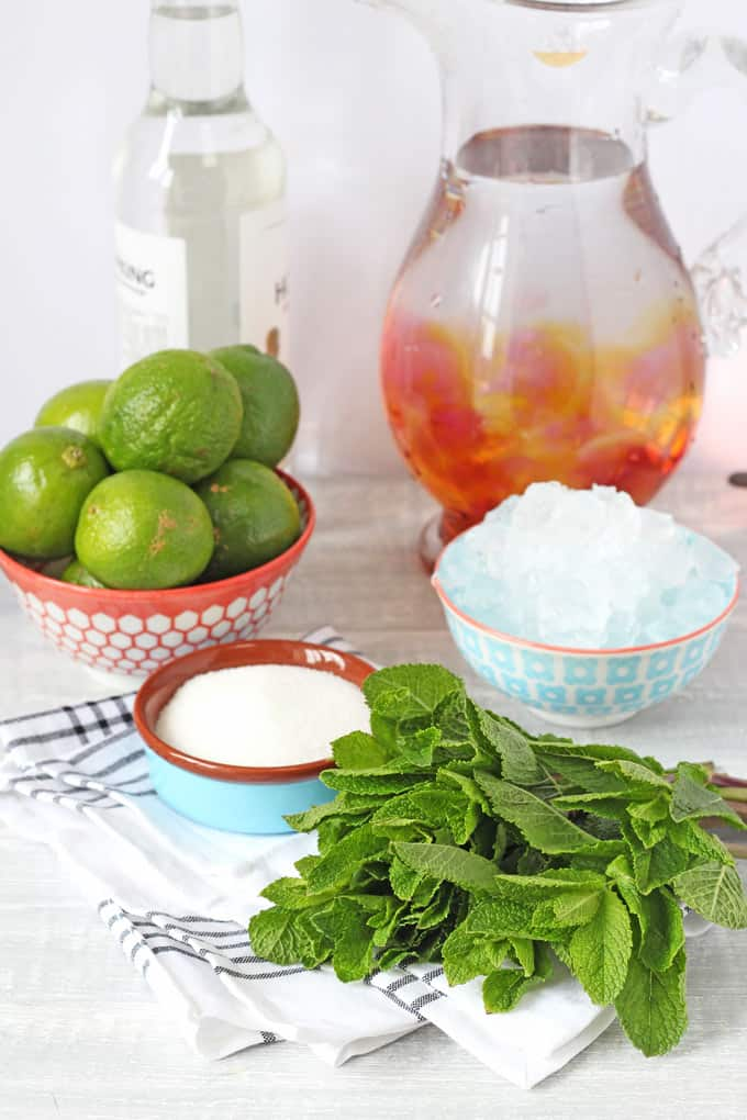 2 minute mojito ingredients