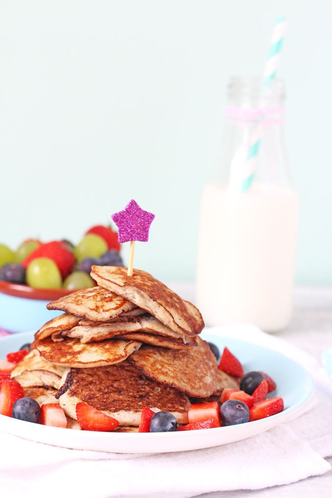 Two Ingredient Pancakes Weaning
