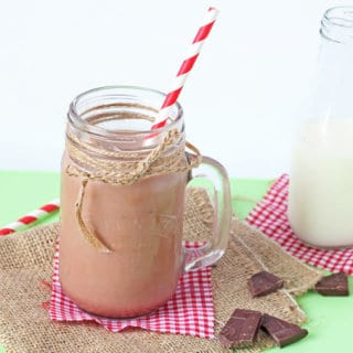 Chocolate Ice Cubes! A healthy and fun way to make chocolate milk | My Fussy Eater Blog