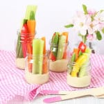 A kid friendly hummus recipes with crudites | My Fussy Eater Blog