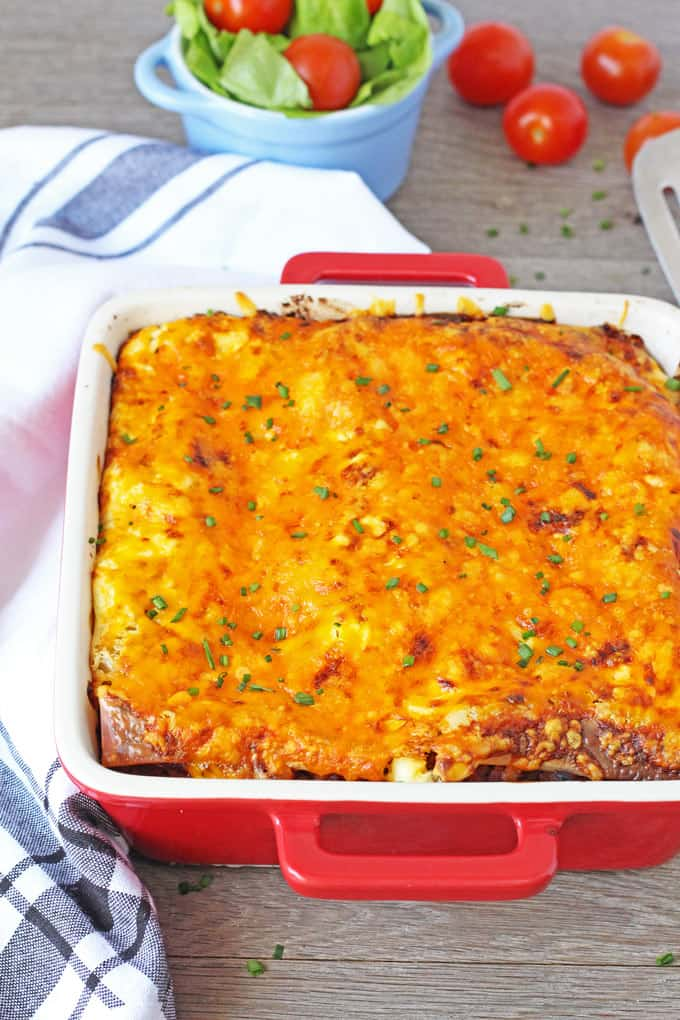 A super speedy recipe for lasagne ready in just 30 minutes. Perfect for mid week meals! | My Fussy Eater Blog