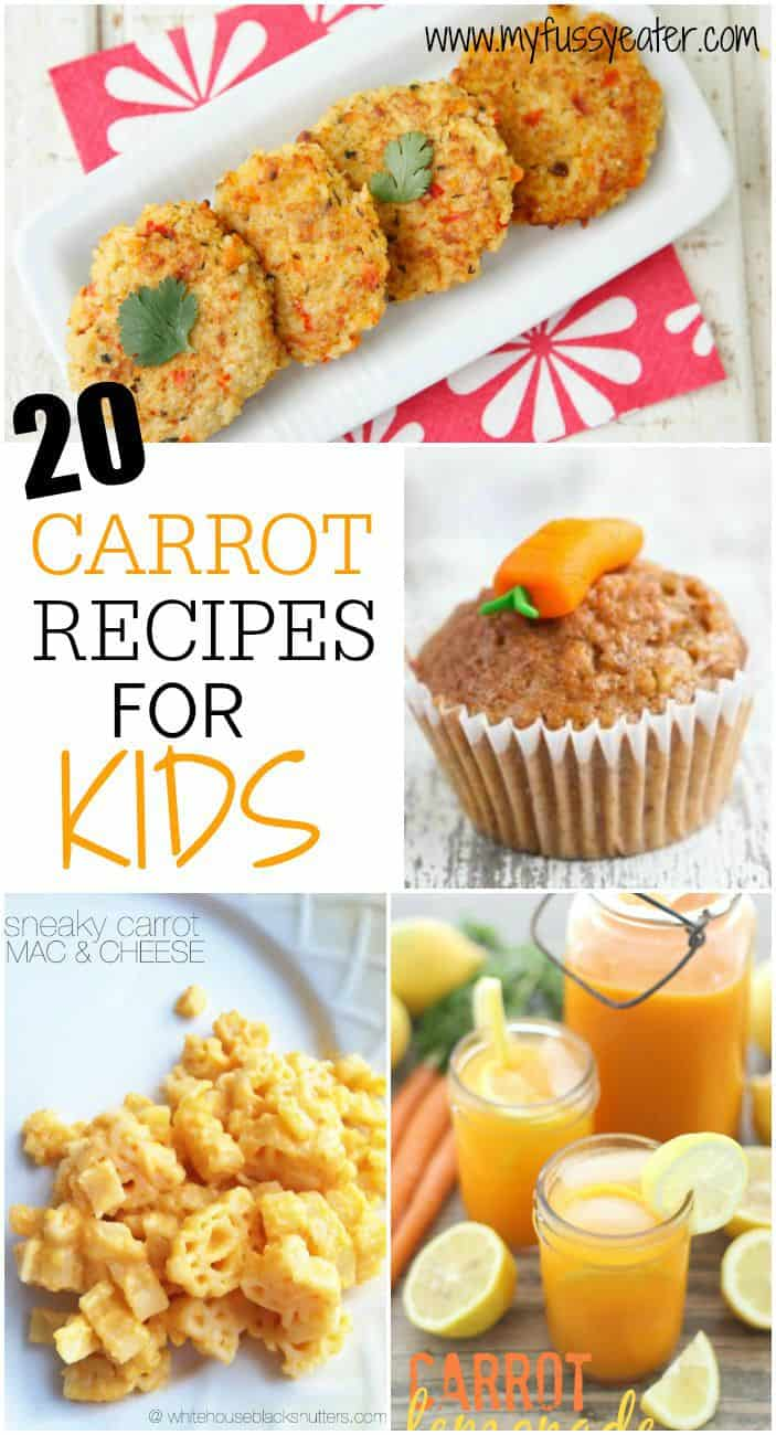20 Great Carrot Recipes For Kids My Fussy Eater Easy Kids Recipes