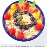 Get the kids more involved in making their meals with these DIY Smoothie Bowls   My Fussy Eater blog
