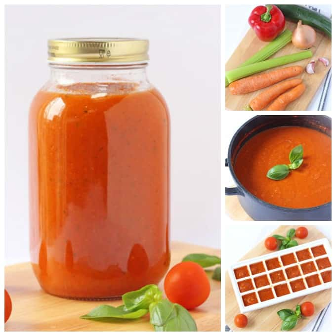 hidden veggie tomato sauce and step by step pictures