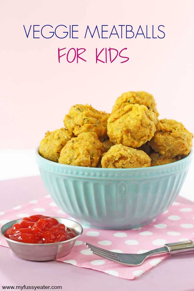 veggie meatballs for kids pinterest pin