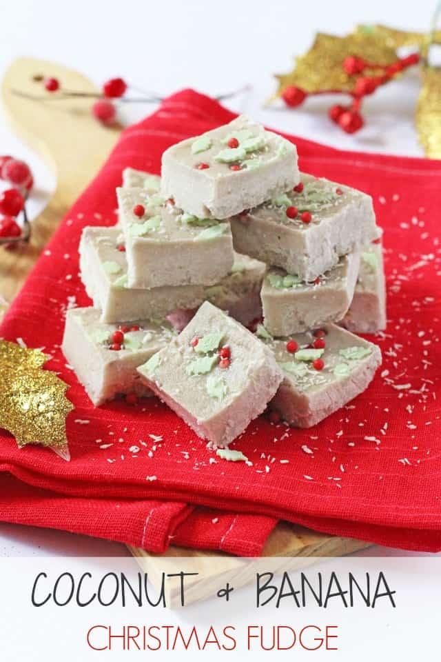 Healthy Christmas Fudge