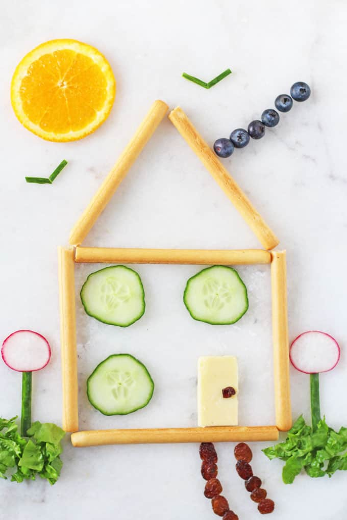 healthy fruit and vegetable snacks house