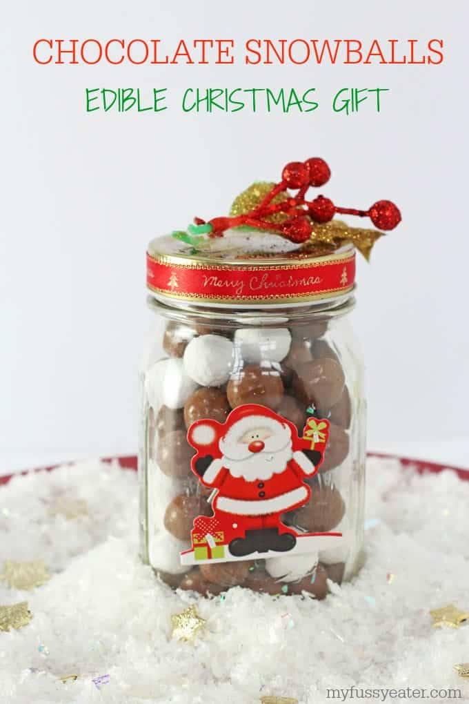 Chocolate Snowballs Pinterest Pin