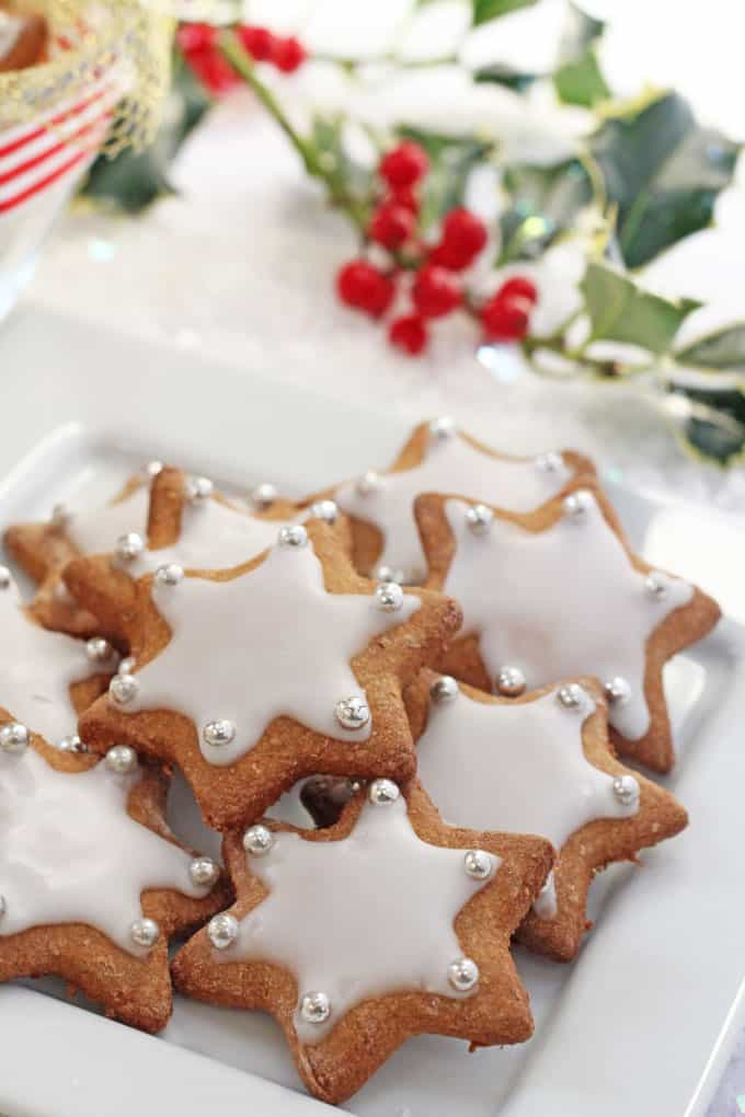 Healthier Gingerbread Star Cookies My Fussy Eater Easy Kids Recipes