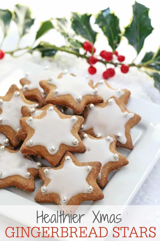 gingerbread star cookies pinterest pin