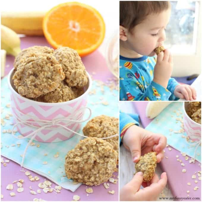 Make these delicious and healthy snacks for toddler with just three simple ingredients | My Fussy Eater blog
