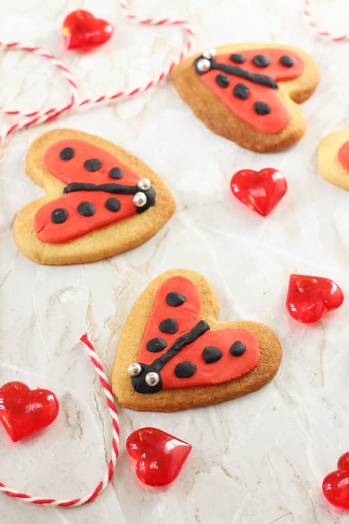 Whether you celebrate Valentine's Day or not, you're going to love these super cute and really easy Love Bug Cookies! My Fussy Eater blog