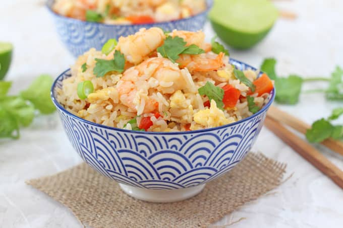 Easy thai prawn fried rice my fussy eater healthy kids recipes ccuart Images