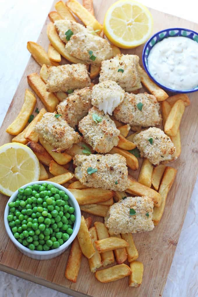 Lemon & Herb Fish Fingers.