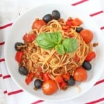 A quick, easy and healthy family recipe, all cooked in one pot and ready in just 15 minutes. My Fussy Eater blog