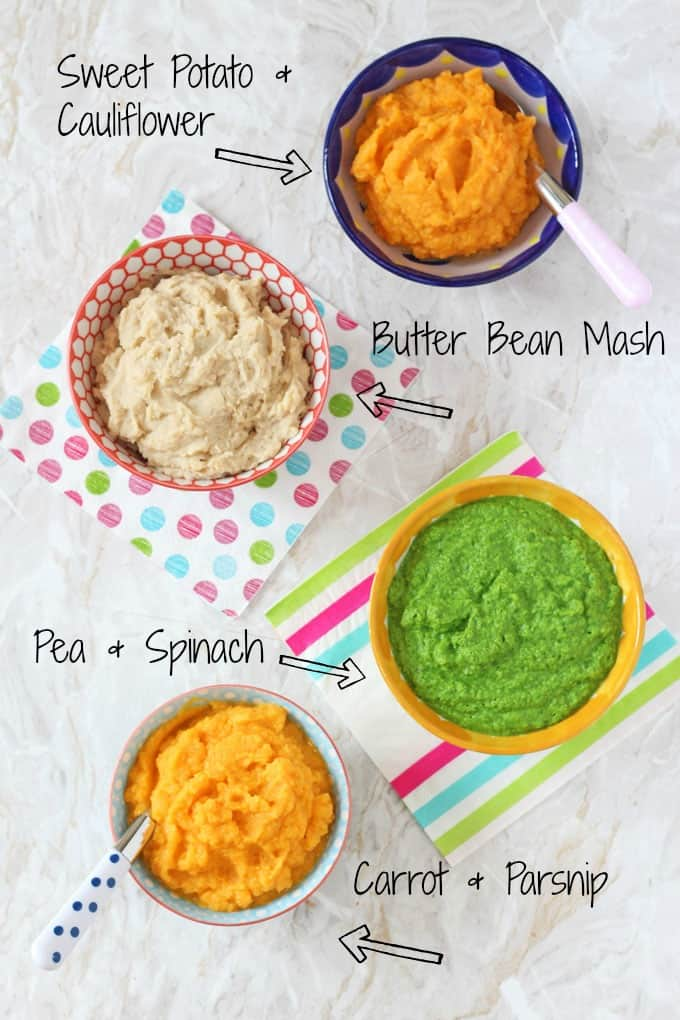 baby puree recipes that make great side dishes