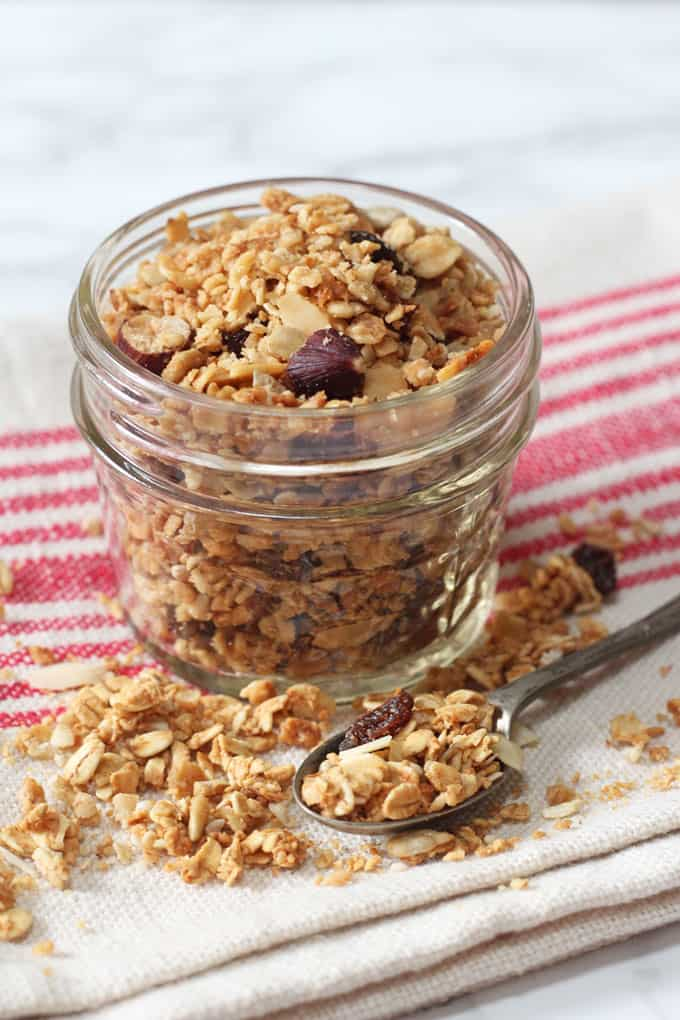 A quick and easy granola recipe - made in the microwave in just 5 minutes!