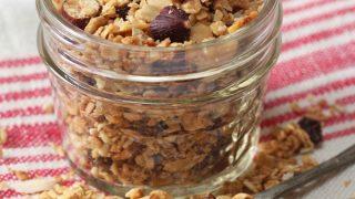 Easy Microwave Granola