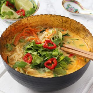 10 Minute Vegetable Laksa