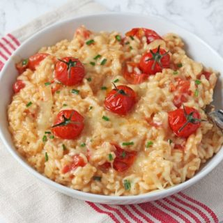 Baked Cheese & Tomato Risotto