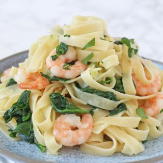 Garlic Butter Prawn Tagliatelle & WIN with Seafish