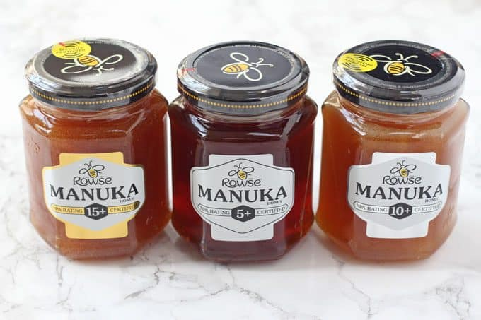 Rowse Manuka Honey varieties