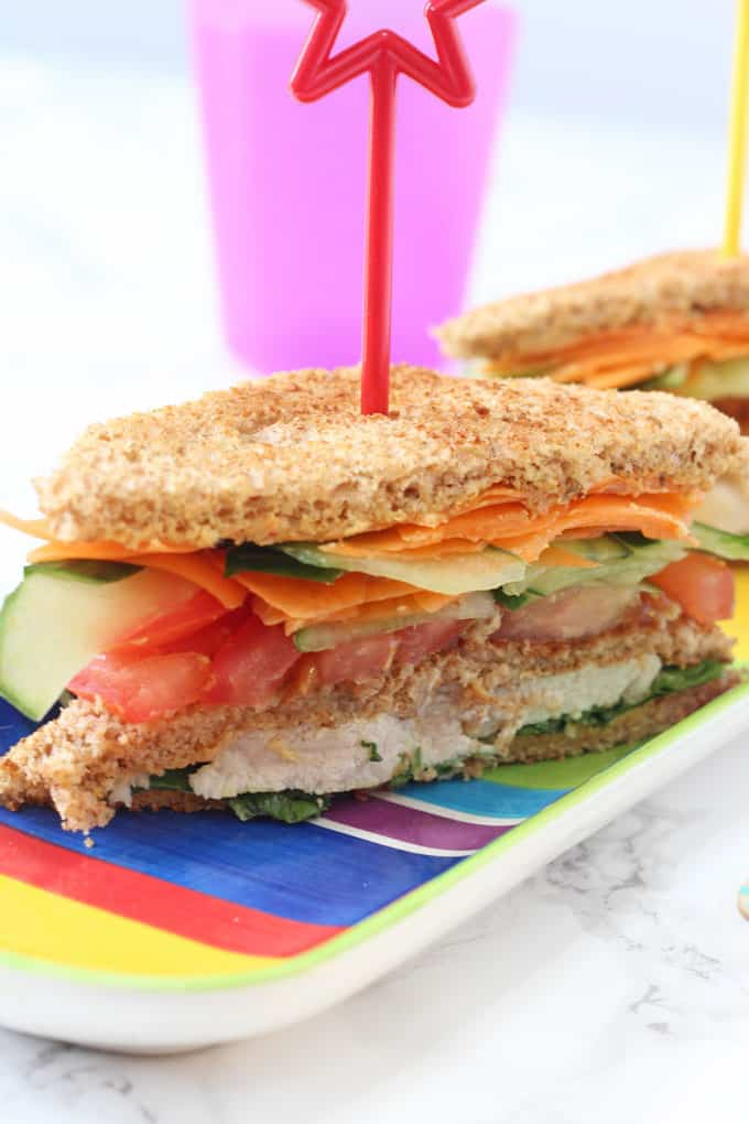 Club Sandwich for Kids - My Fussy Eater | Easy Kids Recipes