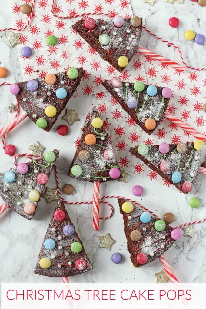 Have some fun with festive baking and make these Christmas Tree Chocolate Cake Pops. They are really easy to make and the kids will absolutely love decorating them!