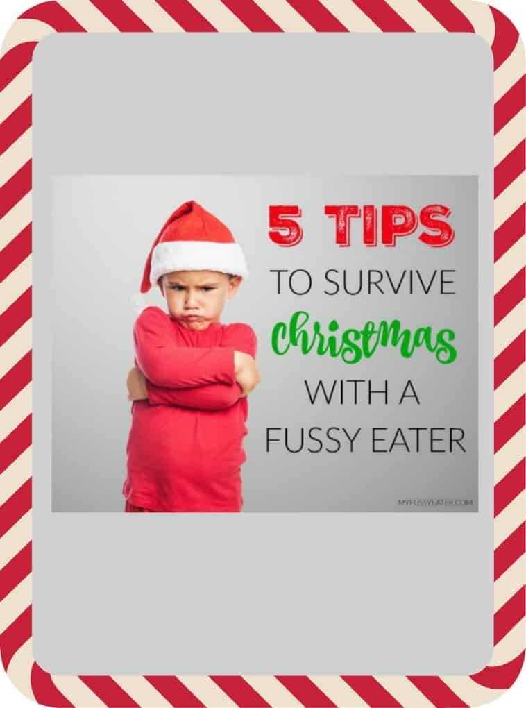 Top Tips for surviving Christmas with a Fussy Eater