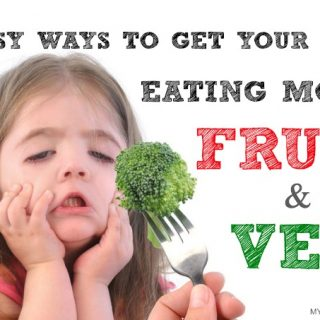 5 Easy Ways To Get Your Kids To Eat More Fruit & Veg