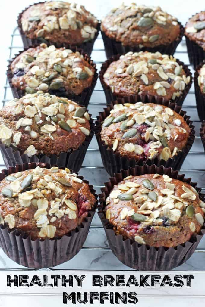 Healthy Berry Breakfast Muffins My Fussy Eater Easy Kids Recipes