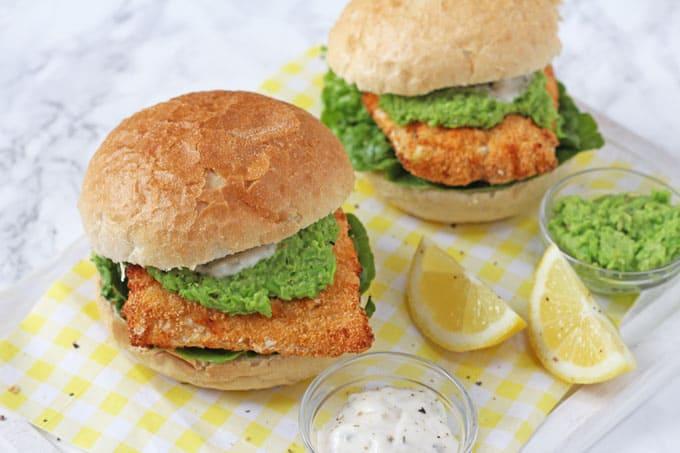 Healthy Fish Finger Sandwich Optimum Healthyfry Air Fryer My Fussy Eater Easy Kids Recipes