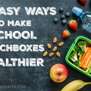 Five Easy Ways to Make School Lunchboxes Healthier