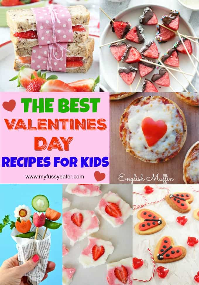 The Best Valentine's Day Recipes and Food Ideas for Kids Pinterest Pin
