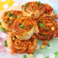 Veggie Pizza Roll Ups