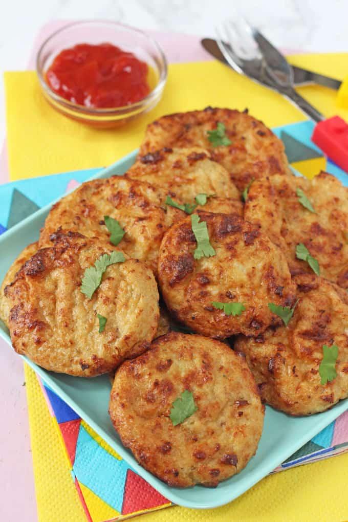 vegetarian cauliflower nuggets for kids