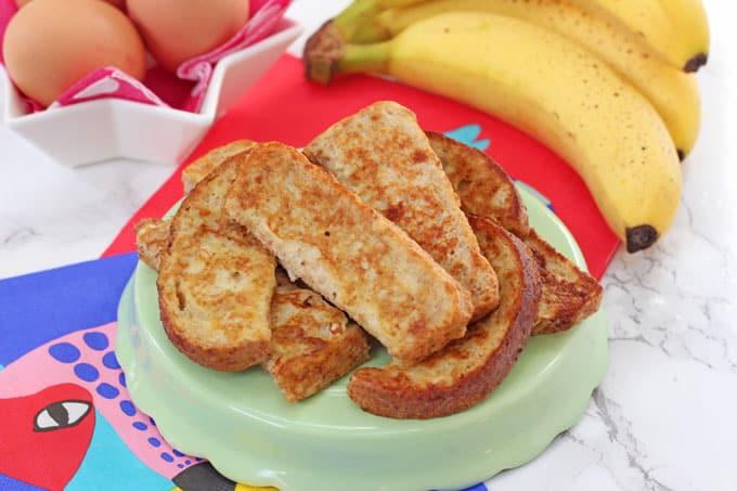 Baby Food Banana French Toast Recipe