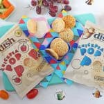Pop Pops - A brand new popped savoury snack from Little Dish made with 40% chickpeas