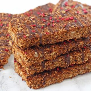 Chocolate Quinoa Granola Bars