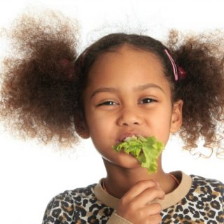 How to get kids to eat salad