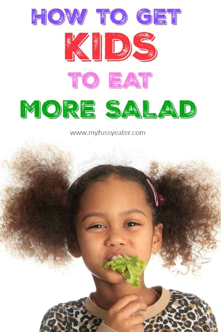 How To Get Your Kids To Eat More Salad | My Fussy Eater
