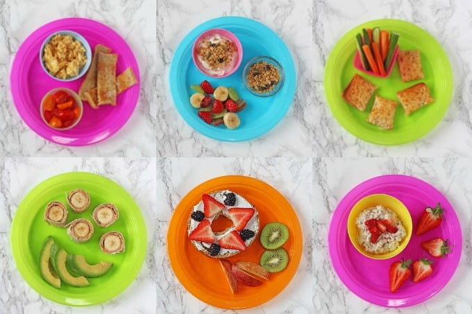 Thinking of quick, easy and healthy breakfast ideas for kids that aren't toast or cereal can be exhausting! But here's seven simple breakfast ideas to last a whole week that the kids are sure to love!