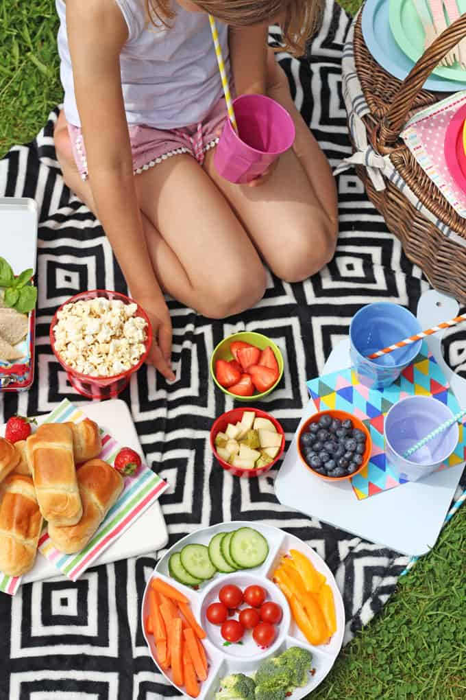 5 minute picnic for kids