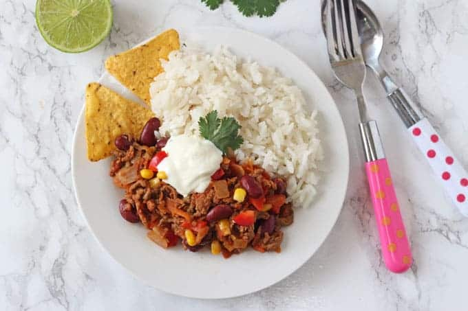 Chilli Con Carne For Kids My Fussy Eater Easy Kids Recipes