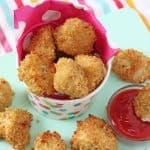 These delicious Crispy Baked Quinoa Chicken Nuggets are a tasty and healthy twist on a classic children's favourite!