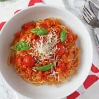 Bolognese red lentil